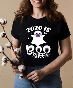 2020 Is Boo Ghost Wear Mask Halloween shirt