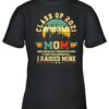 Class of 2021 Mom I raised mine Graduate Retro T Shirt 3