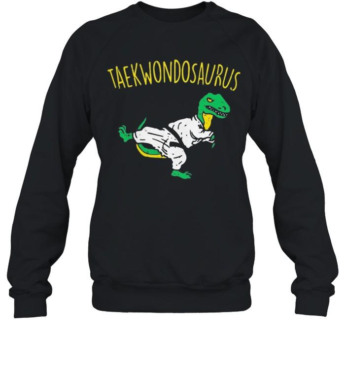 Dinosaurs taekwondosaurus shirt 6