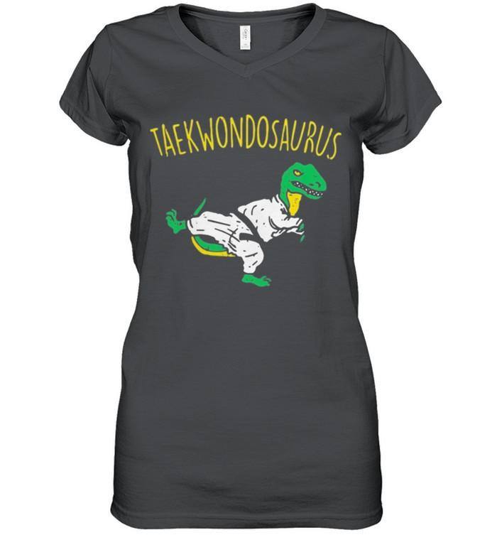 Dinosaurs taekwondosaurus shirt 12