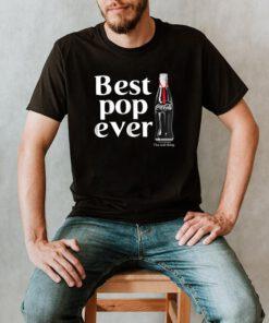 Coca Cola Best Pop Ever Dad Bottle Graphic T Shirt