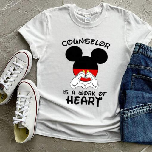 Counselor Is A Work Of Heart Mickey Shirt