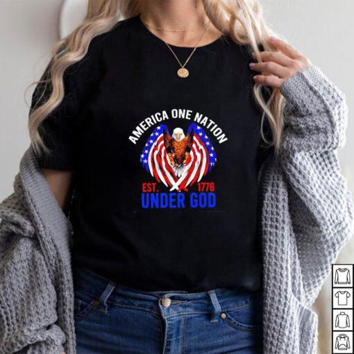 Eagle America One Nation Under God est.1776 shirt