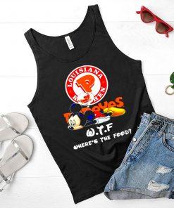 Mickey Louisiana Kitchen WTF wheres the food shirt