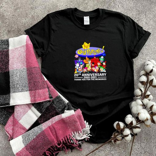 Oll Parents 20th anniversary 2001 2021 thank you for the memories shirt