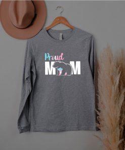 Proud Mom Mother's Day Transgender Lgbt Mama Bear Hug Love Shirt
