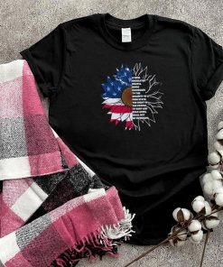 Sunflower a well regulated militia being necessary to the security of a the right of the people shirt