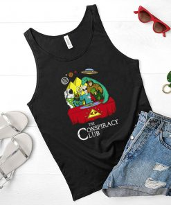 The Conspiracy Club Aliens shirt