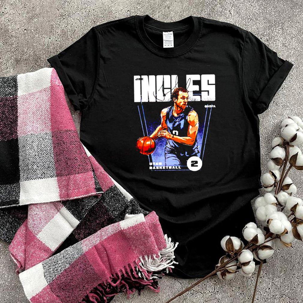 Utah Basketball 2 Joe Ingles signature shirt