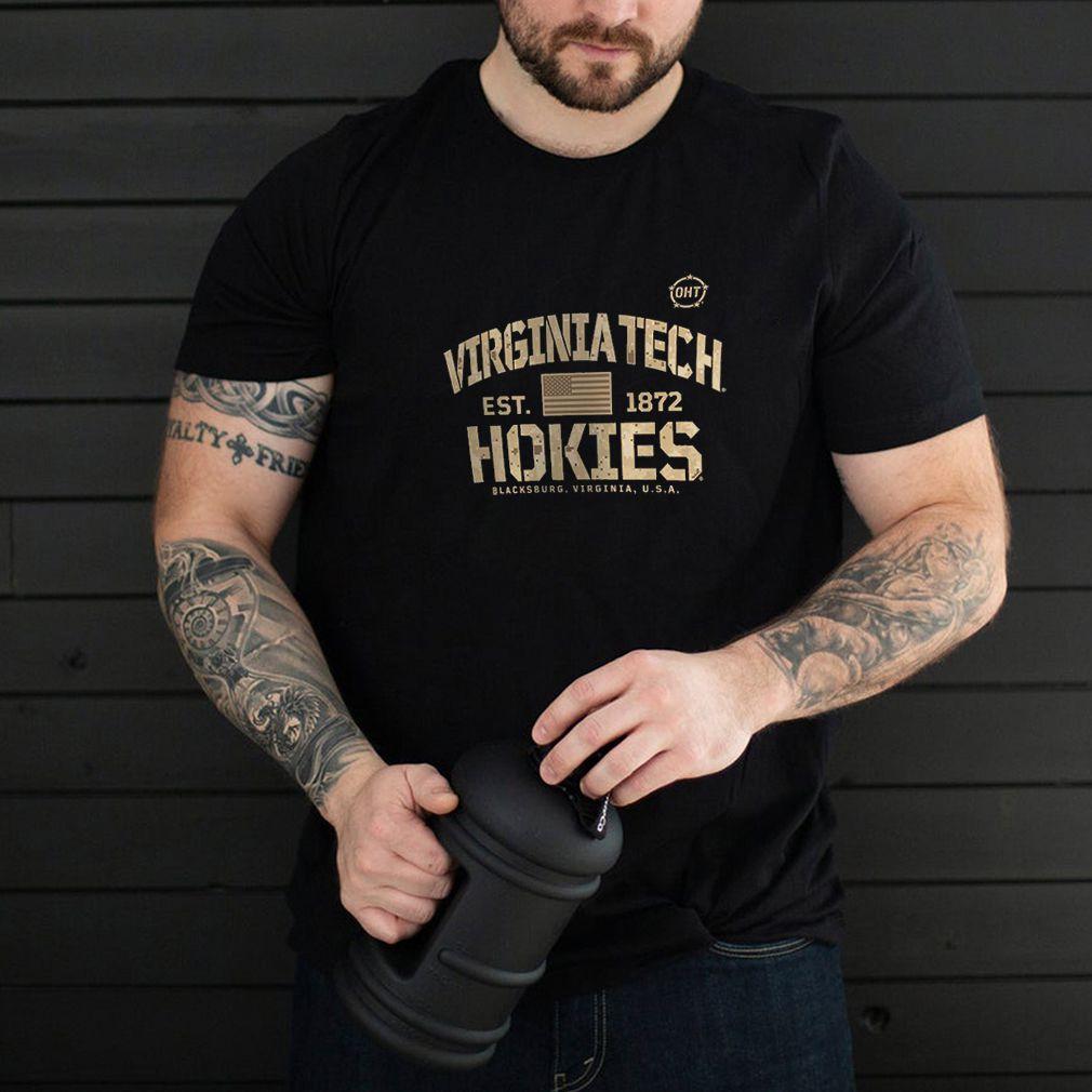 Virginia Tech Hokies OHT Military Appreciation Boot Camp T-Shirt