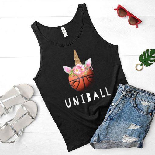 Womens Uniball Basketball Unicorn shirt