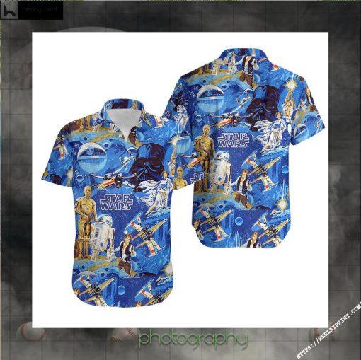 Classic Star Wars Hawaiian shirt