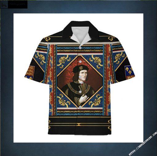 Hawaiian Shirt Richard III of England Historical