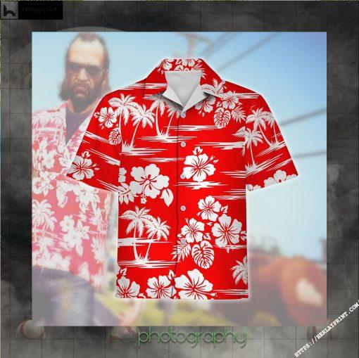 Hawaiian Shirt Trevor Philips Cosplay Apparel
