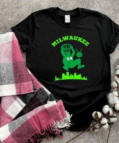 Milwaukee Basketball Fan Graphic T Shirt