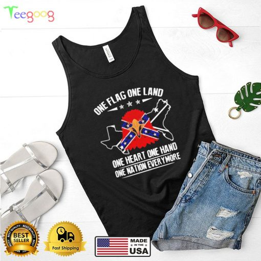 One Flag One Land One Heart One Hand One Nation Everymore Eagle Flag Shirt
