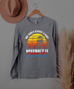 Re Education Camp District 11 Summer 2021 Department Of Homeland Security Vintage T shirt