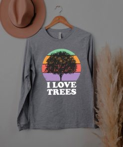 Tree Lover Retro Vintage For Women Girls Or Her Vintage T shirt