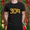 304 Three o four Gear West Virginia T Shirt