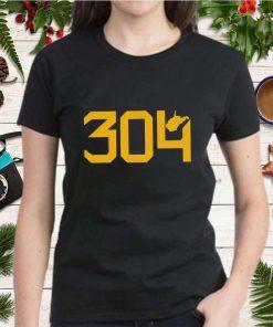 304 Three o four Gear West Virginia T Shirt 2