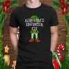 Aerospace Engineer Elf Matching Family Christmas Gift design T Shirt