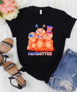 America Flag Independence day Otters Patriotter