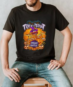 Animal Muppets trick or treat drum battle Halloween shirt