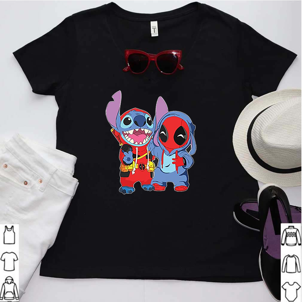 Baby Deadpool And Baby Stitch