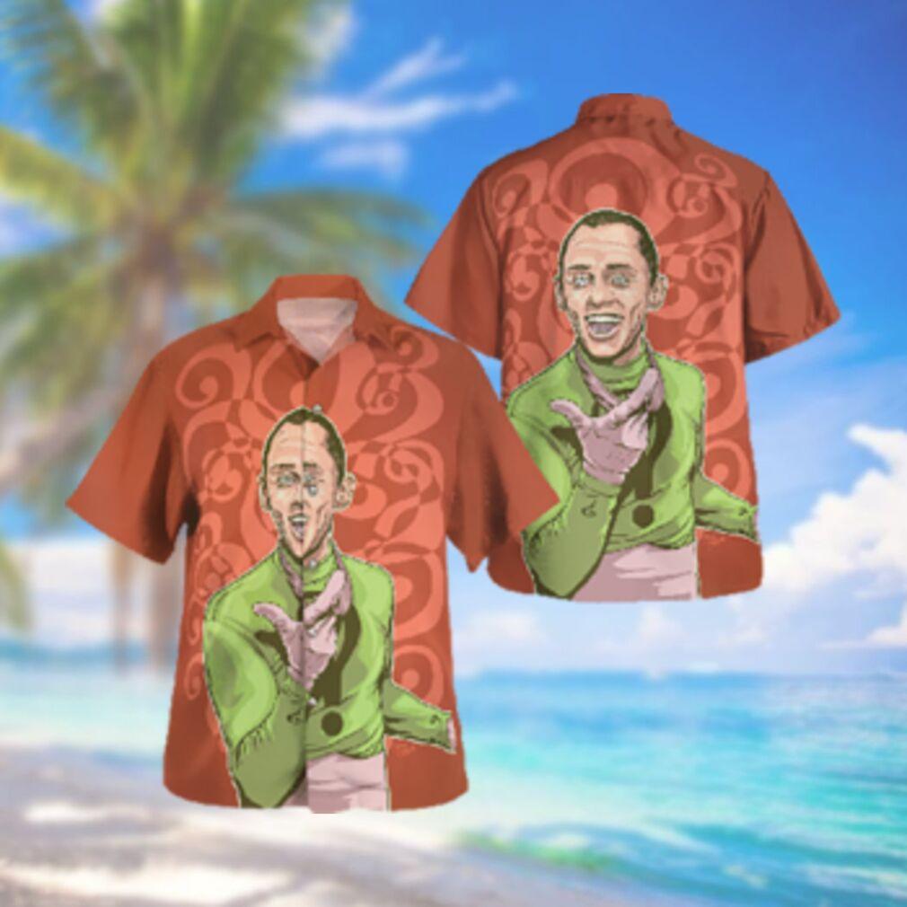 Batman The Riddler Hawaiian Hawaiian Shirt