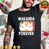 Black panther rip chadwick Boseman wakanda forever vintage retro shirt 3