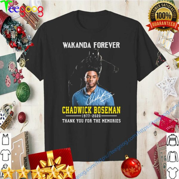 Black panther rip chadwick Boseman wakanda forever 2020 shirt 6
