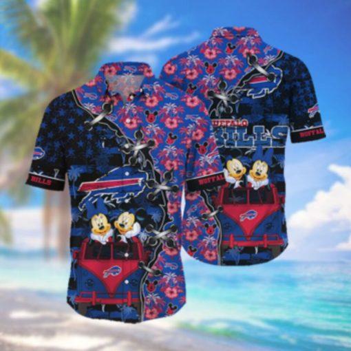 Buffalo Bills NFL Hawaii Shirt Style Hot Trending 3D Hawaiian Shirt