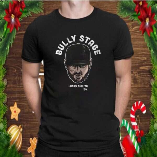 Bully stage Lucas Giolito baseball pitcher shirt