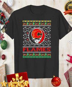Calgary Flames X Grateful Dead Christmas