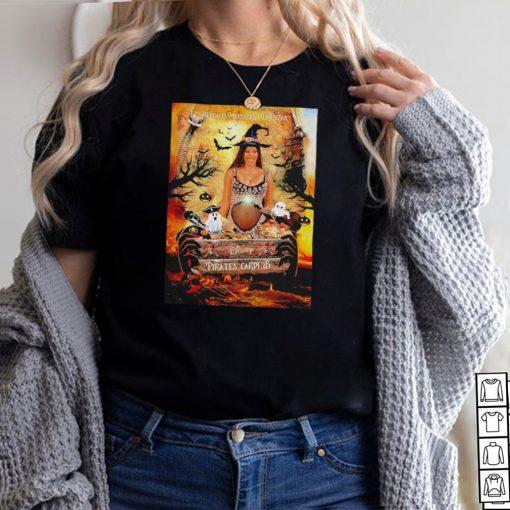 Cardi B Belcalis Marlenis Almanzar Disney Pirates Cardi B halloween shirt