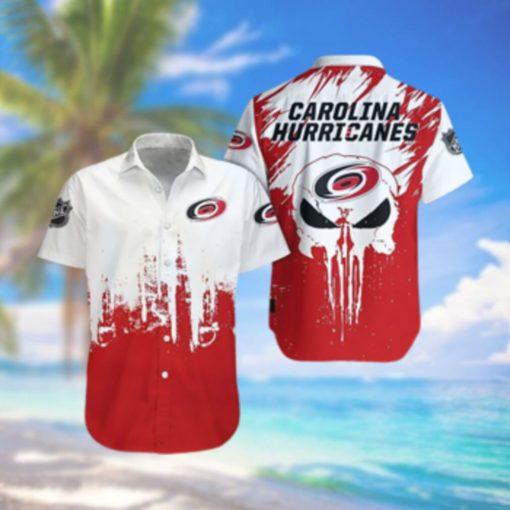 Carolina Hurricanes Limited Edition Button Down Hawaiian Shirt