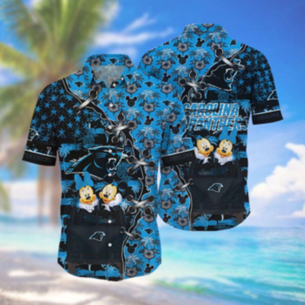 Carolina Panthers NFL Hawaii Shirt Style Hot Trending 3D Hawaiian Shirt