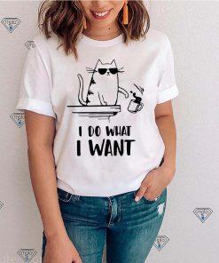 Cat I what I want shirt