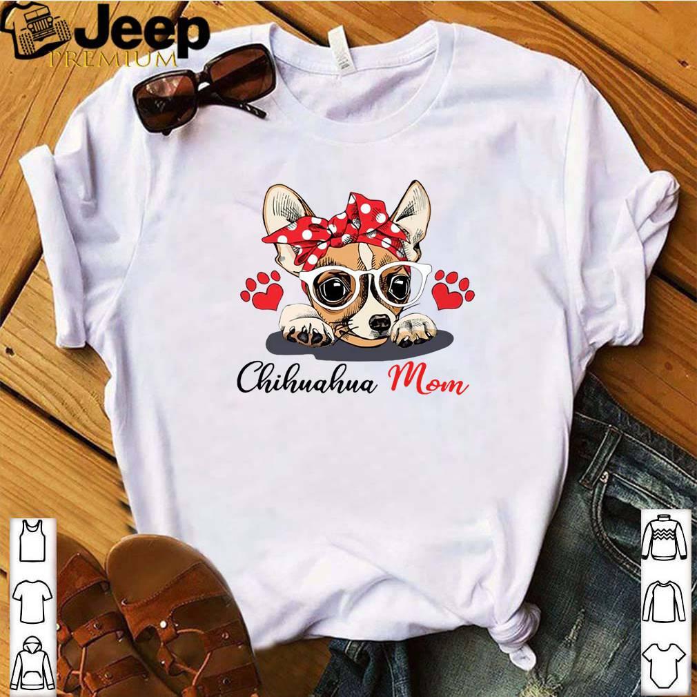 Chihuahua Dog Mom Paw Heart