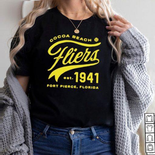 Cocoa Beach Fliers Minor League Baseball shirt