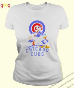 Disney Mickey Mouse Goofy Donald Duck Chicago Cubs logo