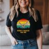 Don&39;t Snack On Me bat vintage T-Shirt 3