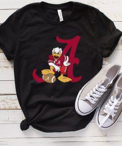 Donald Duck Alabama Crimson Tide Shirt