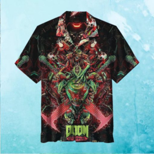 Doom Eternal Game Hawaiian Shirt