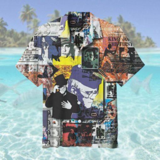 Elton John Previous Memorial Collection Hawaiian Shirt