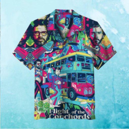 Flight of the Conchords Hawaiian Shirt