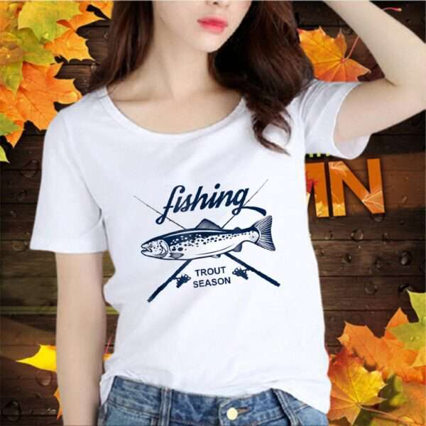 Fly Fishing Tee Angler Trout Season Fisherman Gift Fish Shir T Shirt 2