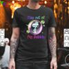 Funny Stay Out of My Bubble Shirts Snoopy Lovers TShirt Quarantined Social Distancing Stay at Home T