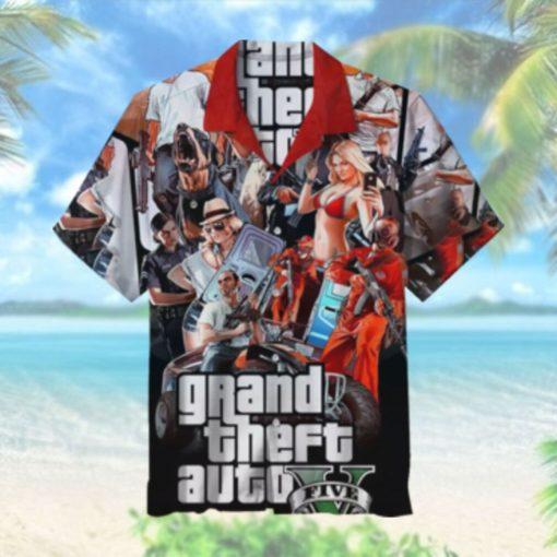 GTA5 Hawaiian Shirt