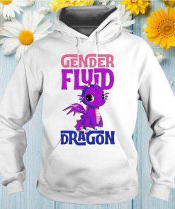 Genderfluid Dragon Genderqueer Genderfluid Pride Flag Gift T-Shirt
